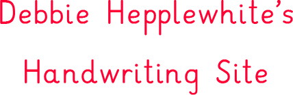 Handwriting Site Title